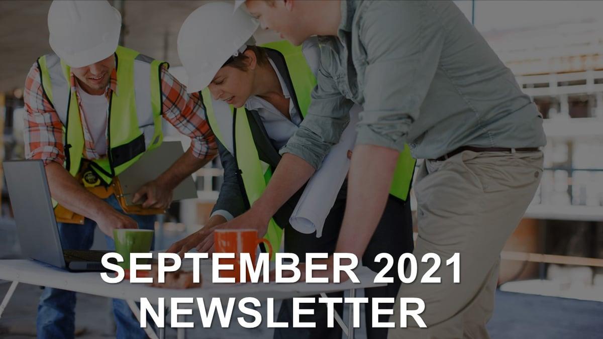 Newsletter Sept 2021