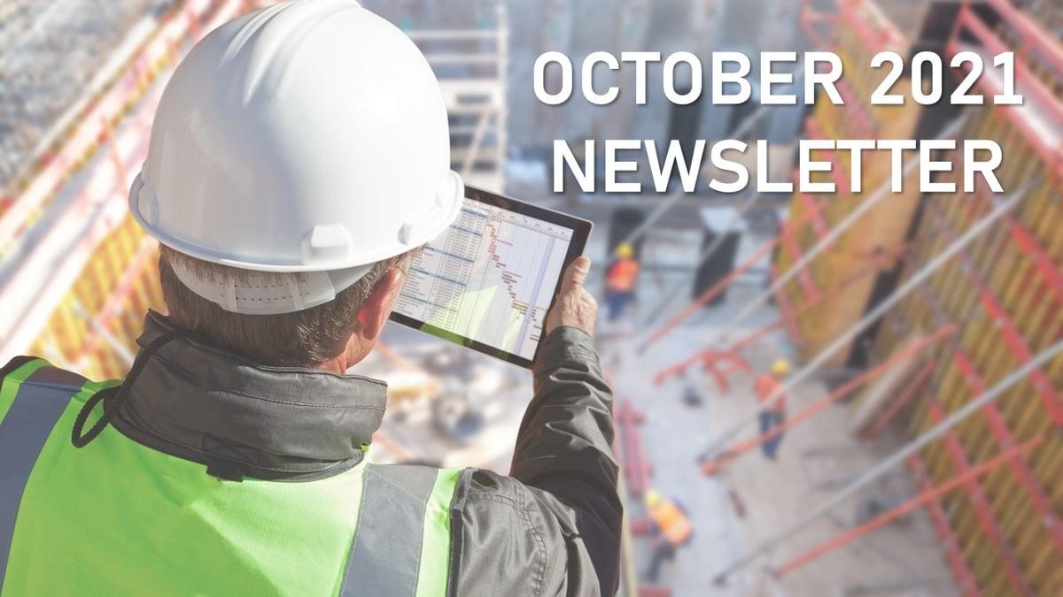 October 21 Newsletter